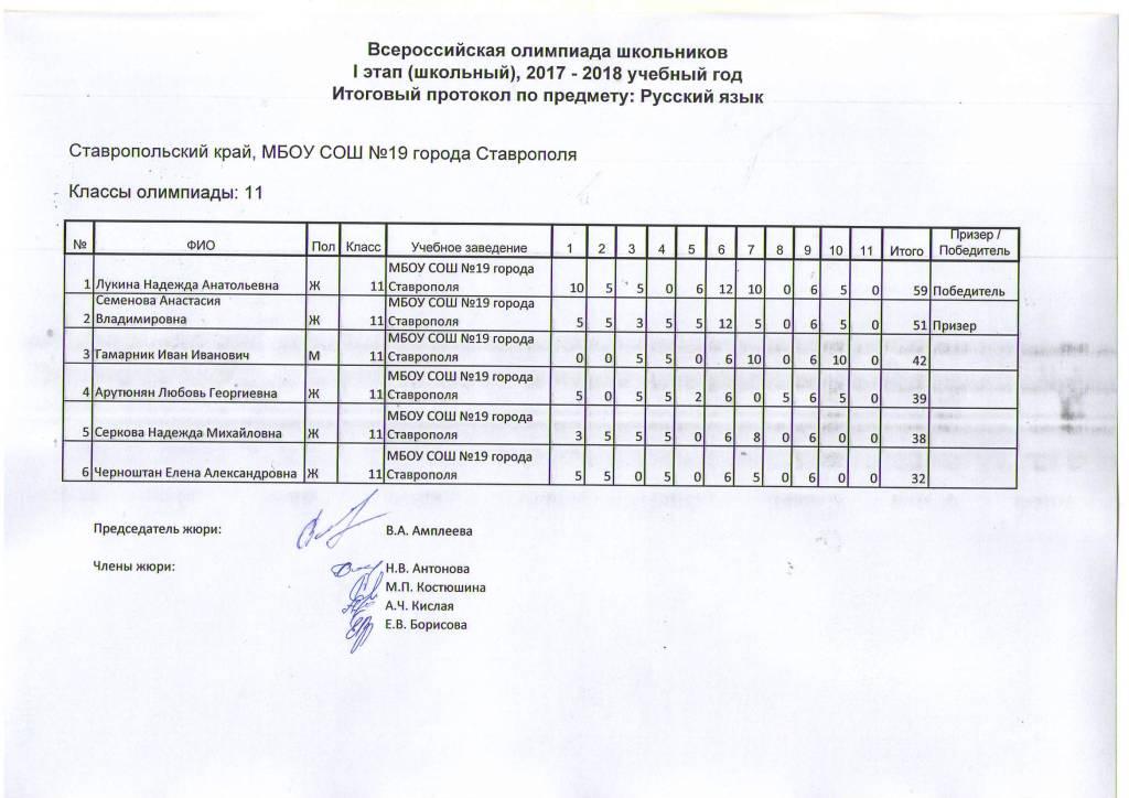 2018 год русский язык 5 класс